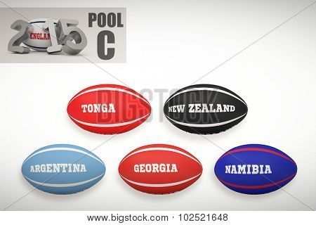 England rugby 2015 message against rugby world cup pool c