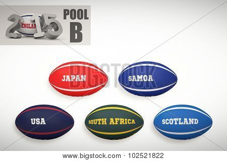 England rugby 2015 message against rugby world cup pool b