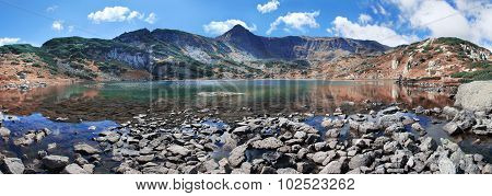 The Fish Lake - one of the Seven Lakes, Rila Mountains, Bulgaria