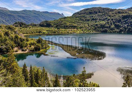 Lago Menendez, Alerces National Park, Argentina