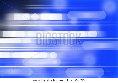 Digitally generated image of blue light background.