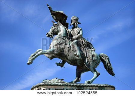 Equestrian Monument Of Archduke Charles, Vienna