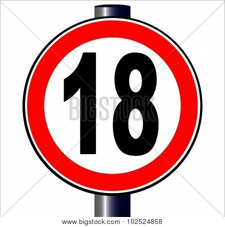 18 Sign