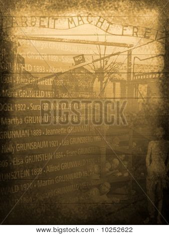 Holocaust Memorial Background