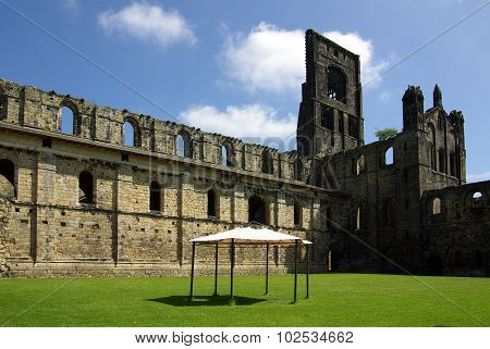 Leeds, Yorkshire, Uk - June 6, 2013: Kirkstall Abbey