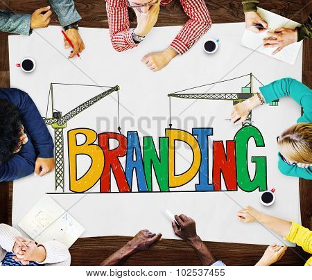 Branding Market Name Strategy Trademark Concept
