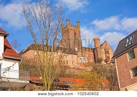 castle ruin named Vorderburg