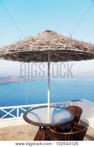Summer Resort In Oia, Santorini