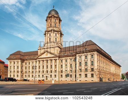 Old Alted Stadthaus Building In Berlin Germany