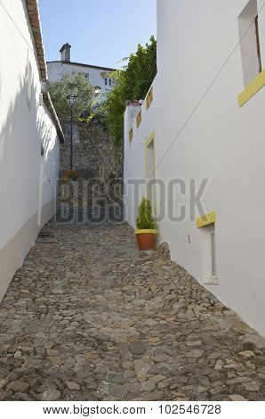 Cobbled Alley Marvao