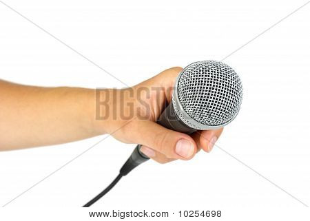 Hand Hold Microphone
