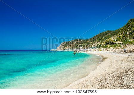 Kathisma Beach, Lefkada Island, Greece.
