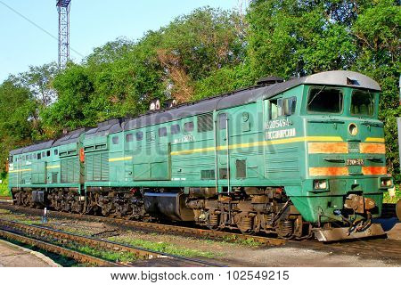 Te10 Diesel-electric Locomotive