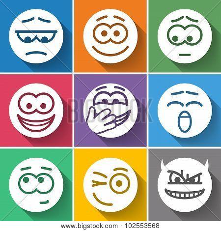 Set Circle Smiles