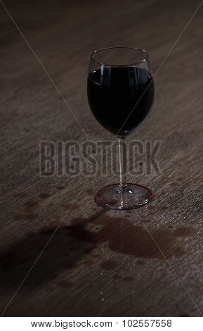 Glass Full Of Wine
