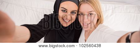 Intercultural Female Friendship