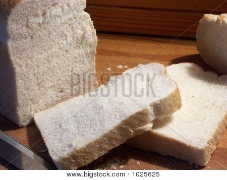 Fresh Bread Freshly Sliced