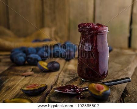 Domestic Plum Jam