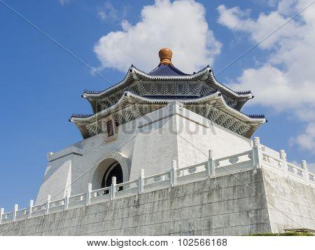 The Famous Chiang Kai-shek Memorial Hall At Taipei, Taiwan