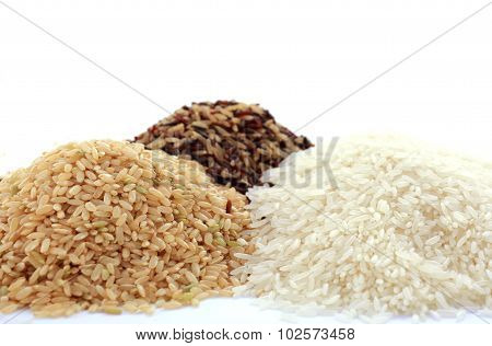 Raw Gluten-free Rice Cereal Ingredient.