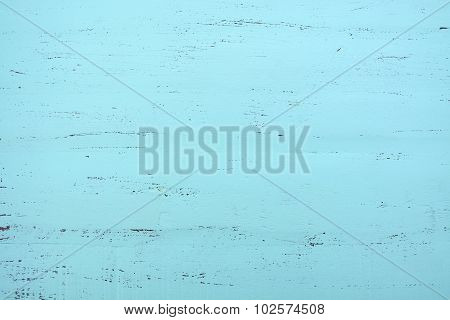 Aqua Green Blue Rustic Wood Background.