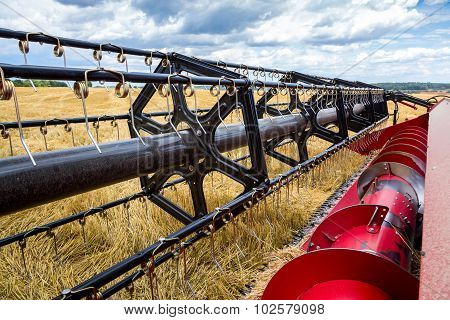 Close View On The Combine