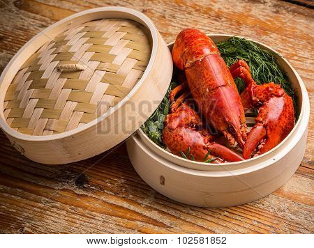 Fresh Steamed Lobster