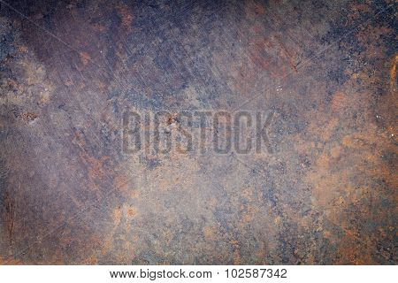 Old metal texture grunge background