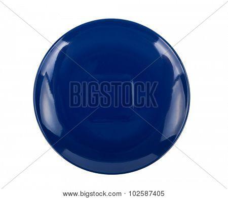 Blue saucer