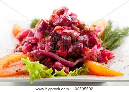 Salad of Beetroot and Vegetables