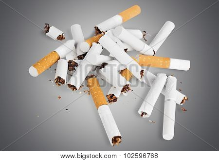Broken Cigarettes.