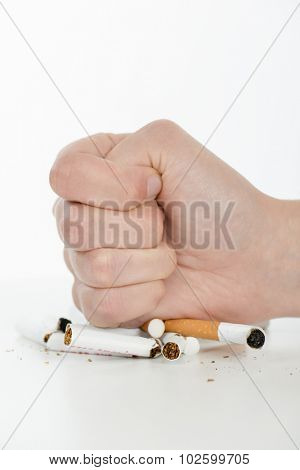 Determined to quit smoking