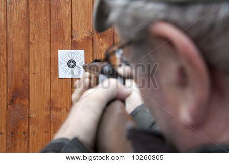 Shooting With Air Gun