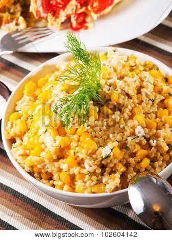 Quinoa With Corn Salad