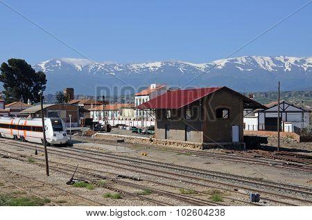 Guadix Railway Station, Spain.