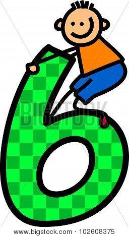 Number Six Boy