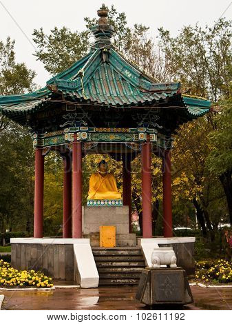 Pagoda in Chinese style