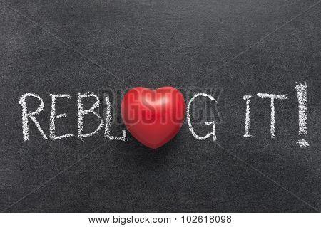 Reblog It