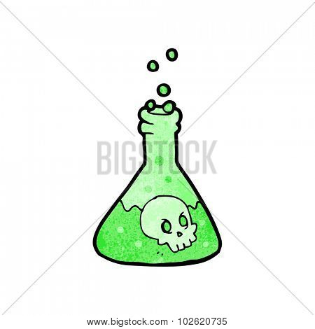 cartoon spooky potion