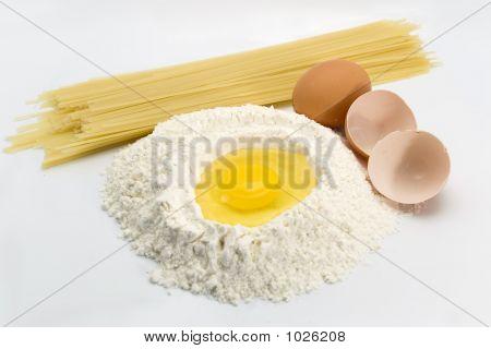 Eggs, Pasta And Flour