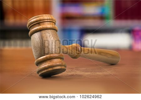 Law gavel.