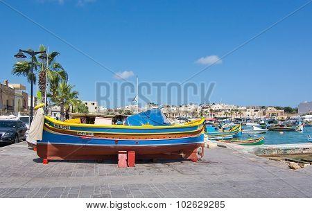 Colorful Boats Marsaxlokk
