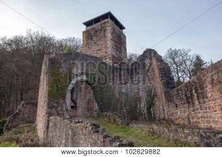 Ruin Hinterburg