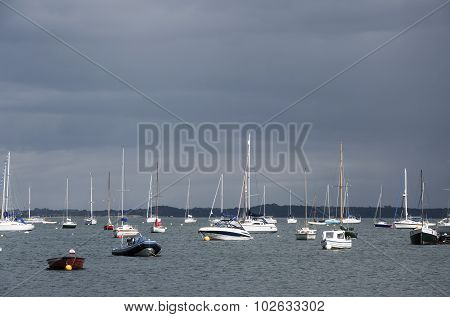Yachts Before The Storm
