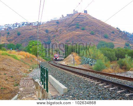 Local Train Leaving Alora