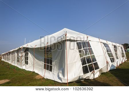 White Large Tent