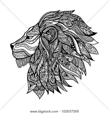 Decorative Lion Head