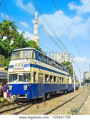 Alexandria Double-deck Tram