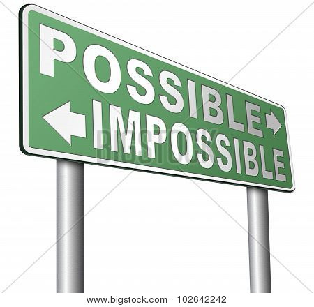 Possible Or Impossible
