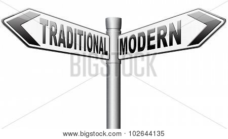 Modern Or Traditional